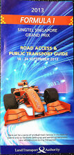 F1 Singapore Road Access & Public Transport Guide Formula One Race 2013