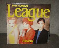 The Human League Crash Virgin VL2391 1986 First  Canadian Pressing GF NM LP