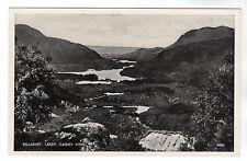 Ladies View - Killarney Lakes Photo Postcard c1940s