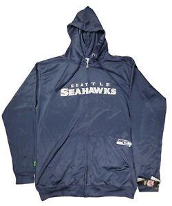 Majestic Seattle Seahawks Sweater Hoodie XLT NFL Football Marshawn Lynch NWT