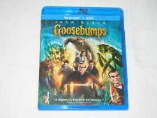Goosebumps (Blu-ray + DVD)  - 2 DISC SET!!!   EXCELLENT SHAPE!!  HALLOWEEN DVD!