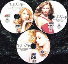 TAYLOR SWIFT In-Store Music Video Reel 2006-2018 3 DVD Set 52 Videos Delicate
