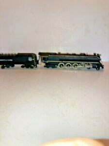 American Flyer S Scale Challenger Loco & Tender #332 DC 4-8-4 Union Pacific,Runs