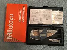 Mitutoyo 293-832-30 Digimatic Digital Micrometer - (Outside)