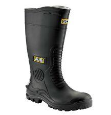 JCB HYDROMASTER Safety Wellington Work Boots Black (Sizes 7-12) Men's Wellies