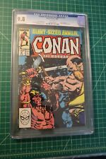 CONAN THE BARBARIAN KING-SIZE ANNUAL #12 (1987) CGC GRADED AT 9.8 WHITE PAGES