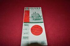 Oliver Tractor Hay Tools Dealer' Brochure ALIL3