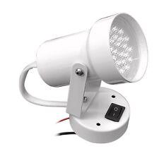White Powder Coated LED Swivel Cabin Lights