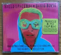 David Bowie – Hallo Spaceboy Original 1st Sticker CD Single rare opp 4trk CULT