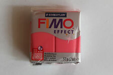 Fimo Modelliermasse FIMO® soft, Effekt translucent rot
