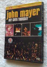 John Mayer: Any Given Sunday (Dvd) Region -1, Very Good, Free Post In Australia