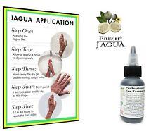 Fresh-Jagua® Tattoo Gel 1oz *TOP GRADE PROFESSIONAL DARK STAIN GEL. Made in USA