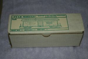 Star Models D&RGW Baggage Car kit in Sn3 scale