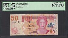 Fiji 50 Dollars ND (2007)  P 113a  Uncirculated Grade 67