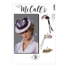 McCalls Schnittmuster M8076 - Historische Kopfbedeckungen - Damenhüte