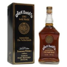Jack Daniel's Gold Medal 1981 + GB , Amsterdam, The Netherlands 1000ml 43% Vol.