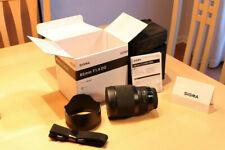 Sigma Art 85mm F/1.4 DG HSM Prime Lens for Canon