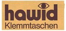 hawid Klemmtaschen  Streifen glasklar 210 mm lang für Markenhöhe 21 mm bis 55 mm