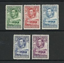Single George VI (1936-1952) Bechuanaland Stamps