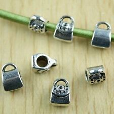 15pcs Tibetan silver handbag fit braceleth1415