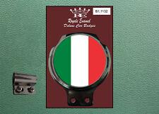 ROYALE CLASSIC CAR BADGE & BAR Clip ITALIA TRICOLOUR mod B1.1132