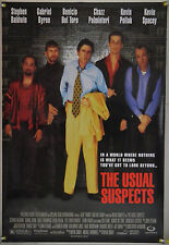THE USUAL SUSPECTS DS ROLLED ORIG 1SH MOVIE POSTER WATCH STYLE (1995)
