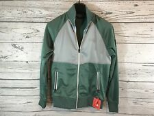 The North Face Mens Pine Green Take Back Retro Track Jacket Size Small NWT