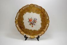Italy vintage Wood Collector Art Plate
