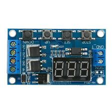 12V Trigger Cycle Time Delay Switch Circuit Countdown Timer Double Mos Control