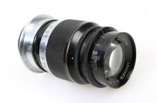 9cm (90mm) F/4 Elmar Leica Leitz Black M39 Screw Mount Lens