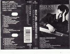 K 7 AUDIO (TAPE)  BILLY JOËL *GREATEST HITS VOLUME 1 & VOLUME 2*