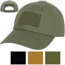 Lightweight Tactical Operator Cap Ripstop Adjustable Military Patch Ball Hat