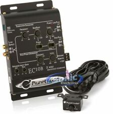 Planet Audio EC10B 2-Way Car Stereo Electronic Crossover with Level Controller