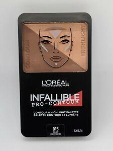 Loreal Infallible Pro Contour & Highlight Palette 815 DEEP