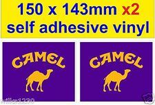 2X Camel Trophy rally race car bike classic decal van bus truck mini sticker dub