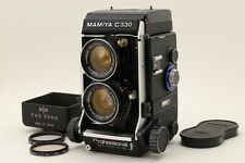 [Mint+] Mamiya C330 Professional F+ Sekor 55mm Lens Kit w/ Hood from Japan #458