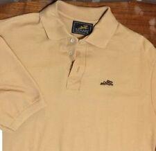 Vtg 80's 70's the HARE Montgomery Ward Punk Tan Tennis Polo Golf Hip Md/Lg shirt