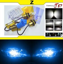 LED Kit Z 96W 9004 HB1 10000K Blue Head Light Two Bulbs High Low Plug Play JDM