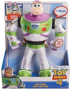 Toy Story 4 Buzz Lightyear High Flying Action Plush (Damaged Packaging) - 21288
