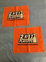 Anaheim Ducks Rally Towels - 2011 Stanley Cup Playoffs - Lot Of 2!