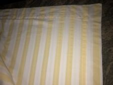 GORGEOUS BAGNI VOLPI NC SOUTHER FINE LINENS~FULL DUVET COVER~YELLOW STRIPES