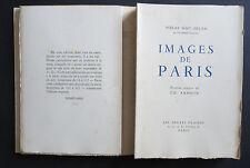 Images de Paris - P.M. Orlan & Ch. Samson - Les heures claires, 1951