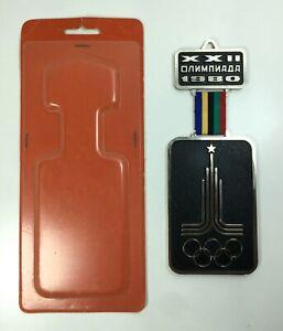 Olympic 1980 Russian souvenir Soviet symbol olympiad Moscow vintage USSR