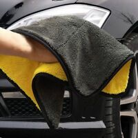 Super Absorbent Car Wash Microfiber Towel Drying Cloth Hemming Car Cleaning New
