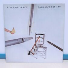 "33T Paul Mc CARTNEY Vinyle LP 12"" PIPES OF PEACE Rock Beatles PARLOPHONE 1652301"