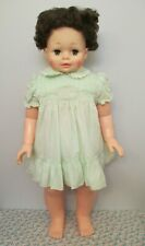 Adorable Vintage Lifesize, All Vinyl & Plastic Toddler Baby Doll by Eugene, 1978