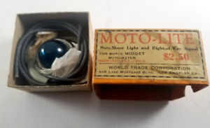 NOS Model A Ford Motometer Moto Lite in Original Box and Packaging