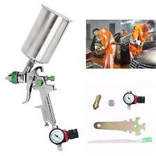 2.5mm HVLP Spray Auto Paint Tool Gravity Feed Spray Gun Metal Flake Primer Nozzl