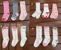 3 pairs Baby Boys Knee High Assorted Socks w// Gripper ** fits 6m-3 years BULK..