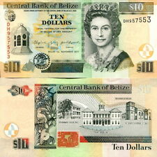 BELIZE - 10 Dollars 2011 FDS - UNC